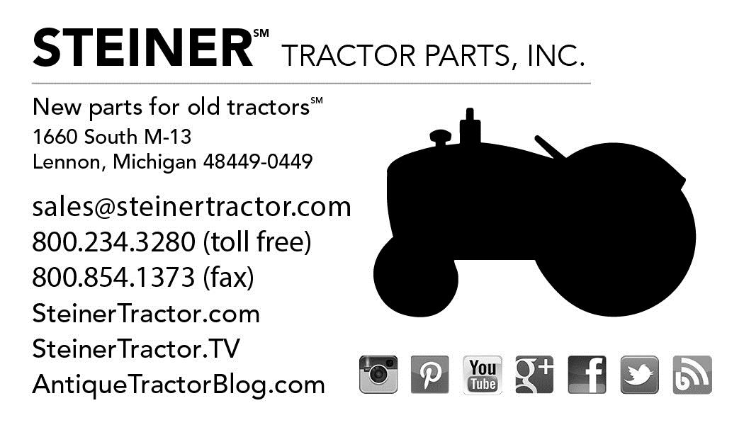 Steiner Tractor rarely offers promo codes. On average, Steiner Tractor offers 0 codes or coupons per month. Check this page often, or follow Steiner Tractor (hit the follow button up top) to keep updated on their latest discount codes. Check for Steiner Tractor's promo code exclusions.4/4(2).