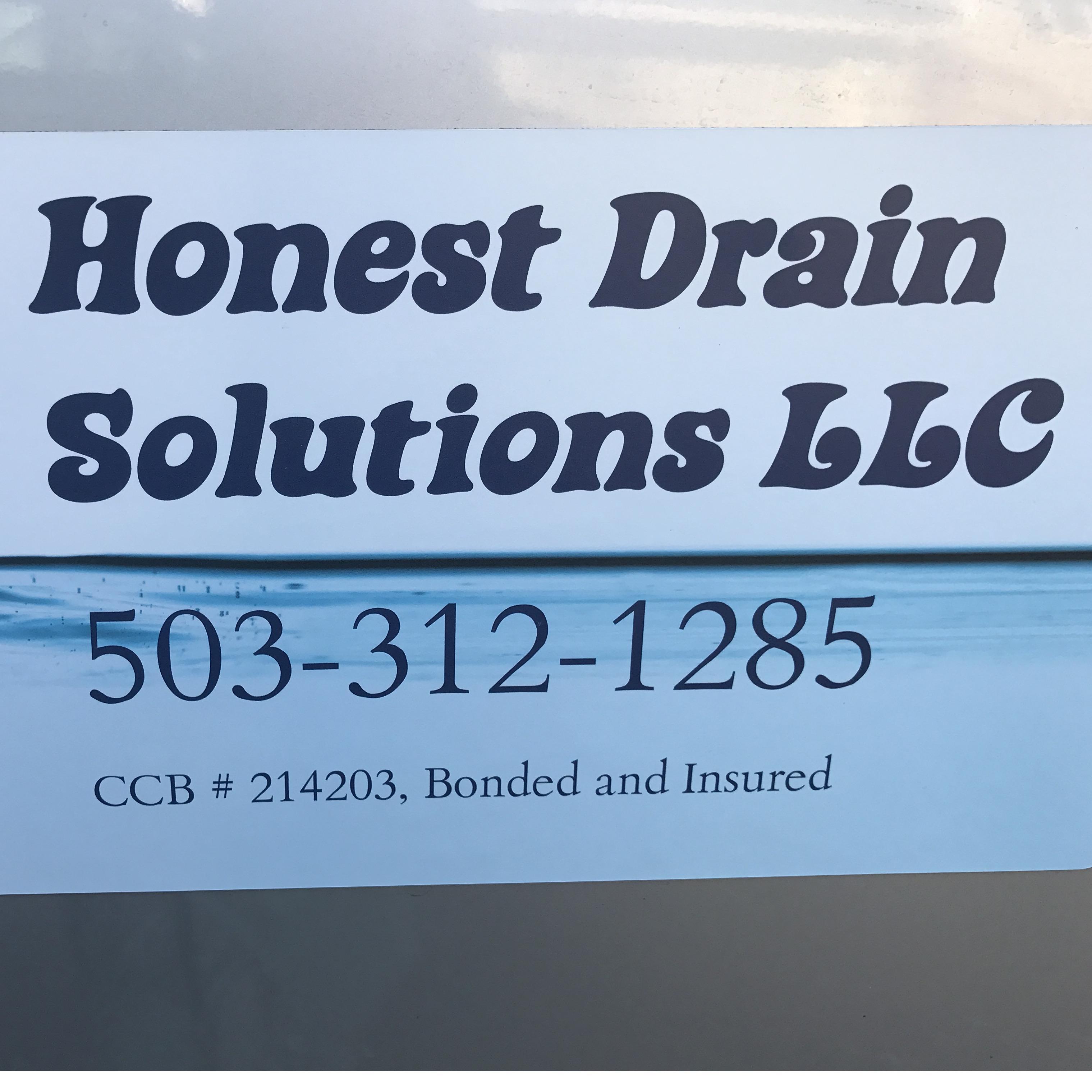 Honest Drain Solutions LLC