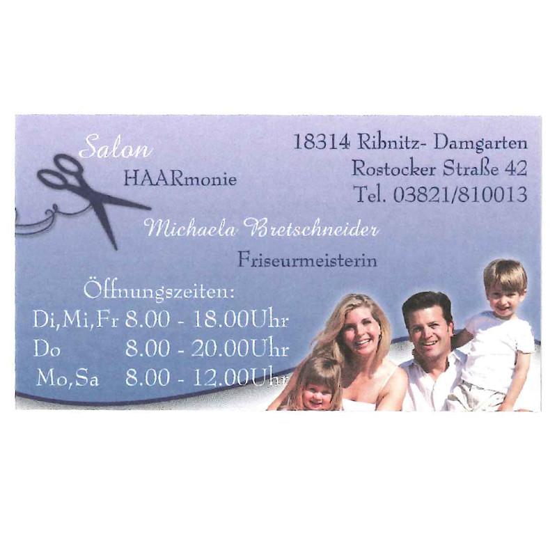 Logo von Friseursalon HAARmonie Inh. Michaela Bretschneider