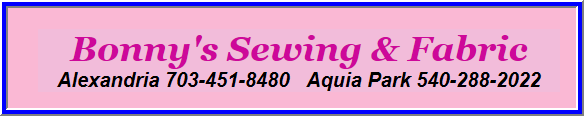 Bonny's Sewing & Fabric