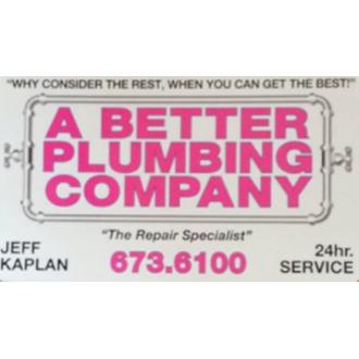 A Better Plumbing Company