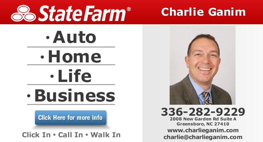 Charlie Ganim - State Farm Insurance Agent in Greensboro, NC, photo #2
