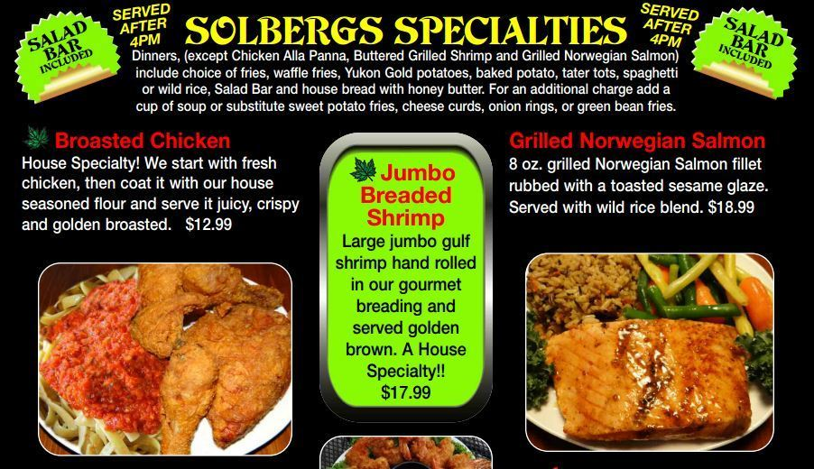 Solbergs Greenleaf Sports Bar & Grill image 16