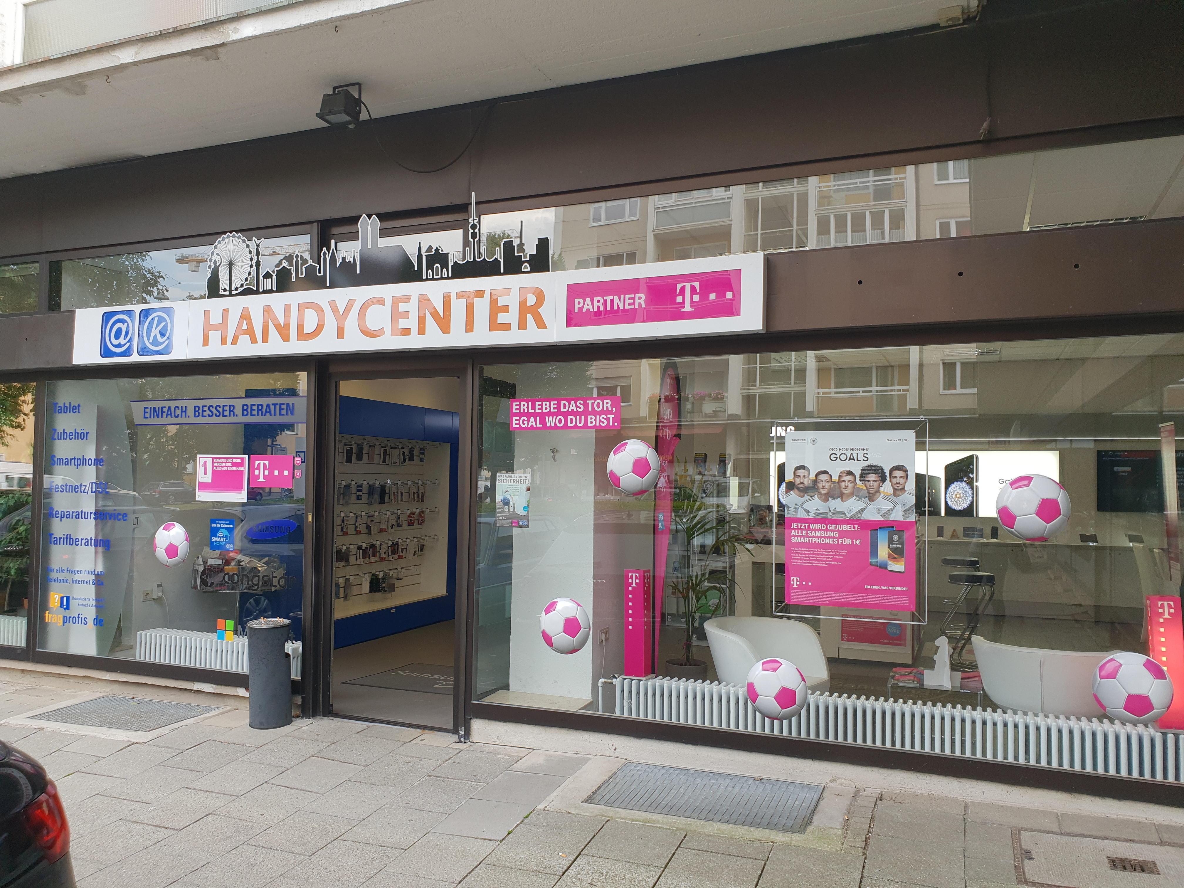Bild der Telekom Partner Handy-Center München