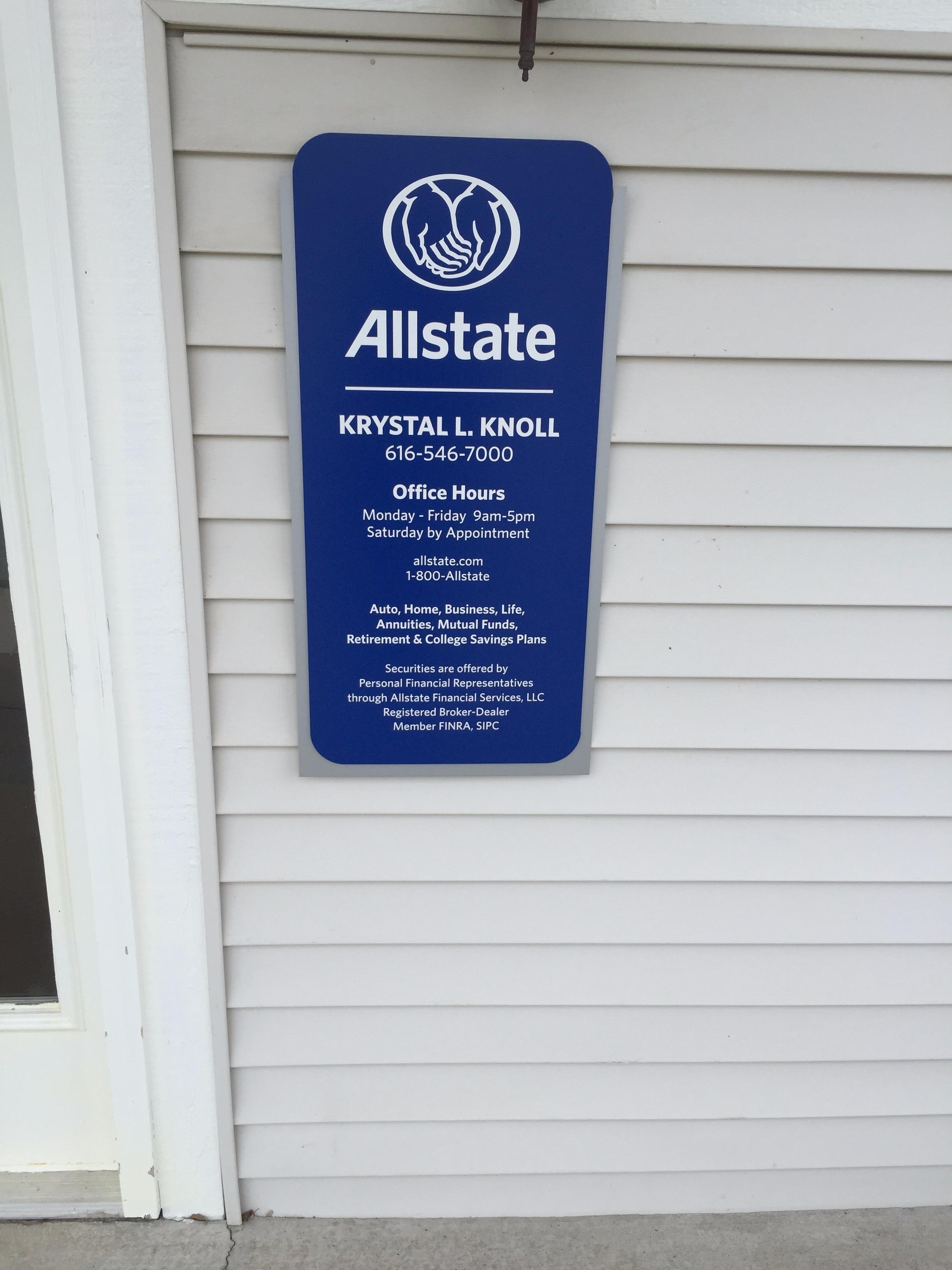 Allstate Insurance Agent: Krystal Knoll image 3