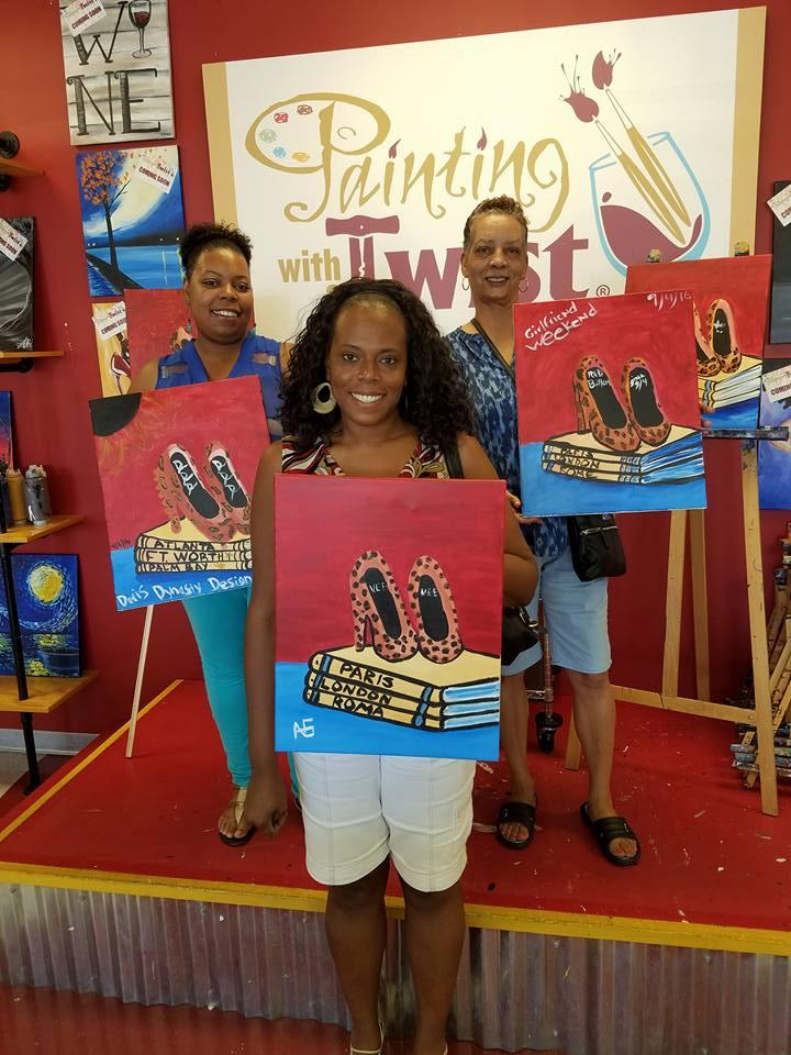 Painting with a twist coupons near me in atlanta 8coupons for Painting with a twist chicago