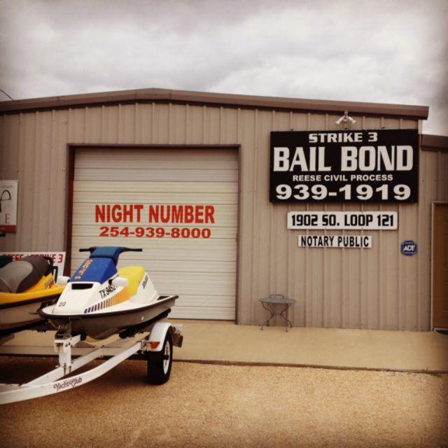 Strike 3 Bail Bonds - ad image