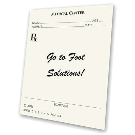 we have a Board Certified #Pedorthist on staff who can fill prescriptions from your Doctor, PhysicalTherapist, Chiropractor....