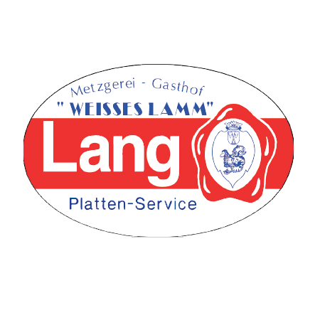 Logo von Hotel Garni Weißes Lamm & der Metzgerei Lang
