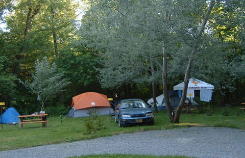 Montreal South KOA à St Philippe de Laprairie: You are in the trees, but only 20 minutes from downtown Montreal