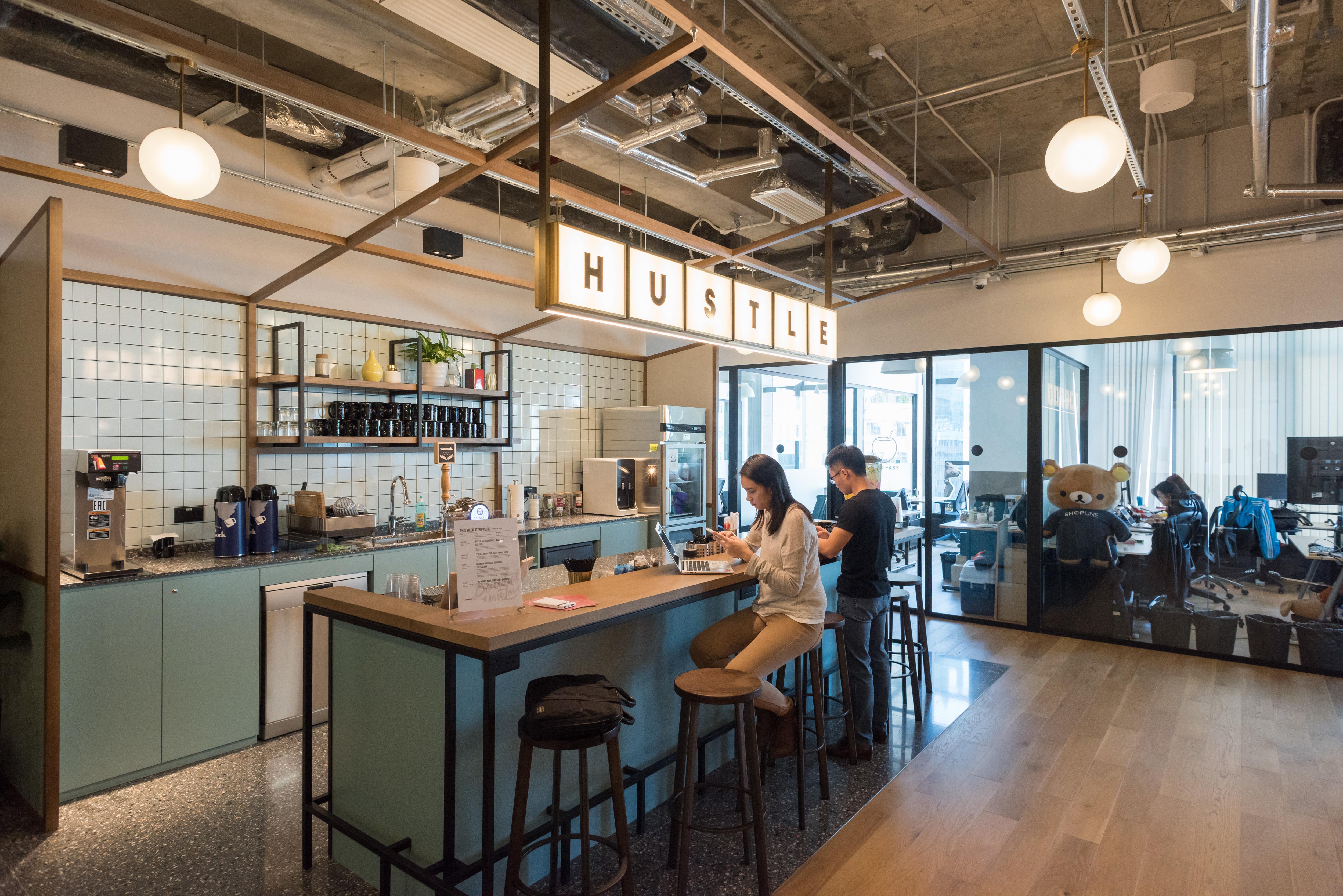wework hong kong island office space eastern hong kong. Black Bedroom Furniture Sets. Home Design Ideas
