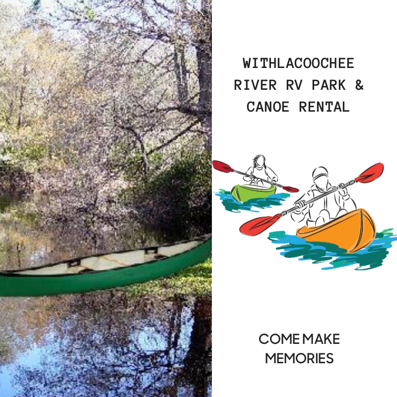 Withlacoochee River Rv Park Amp Canoe Rental In Dade City