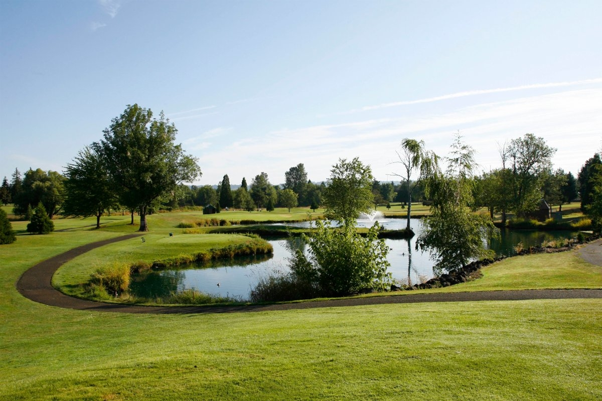 Rock Creek Country Club in Portland is great for Golf Course adventure and our driving range