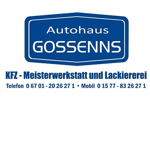 Logo von Autohaus Gossenns