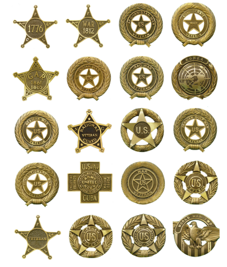 War, Veteran, Service Grave Markers