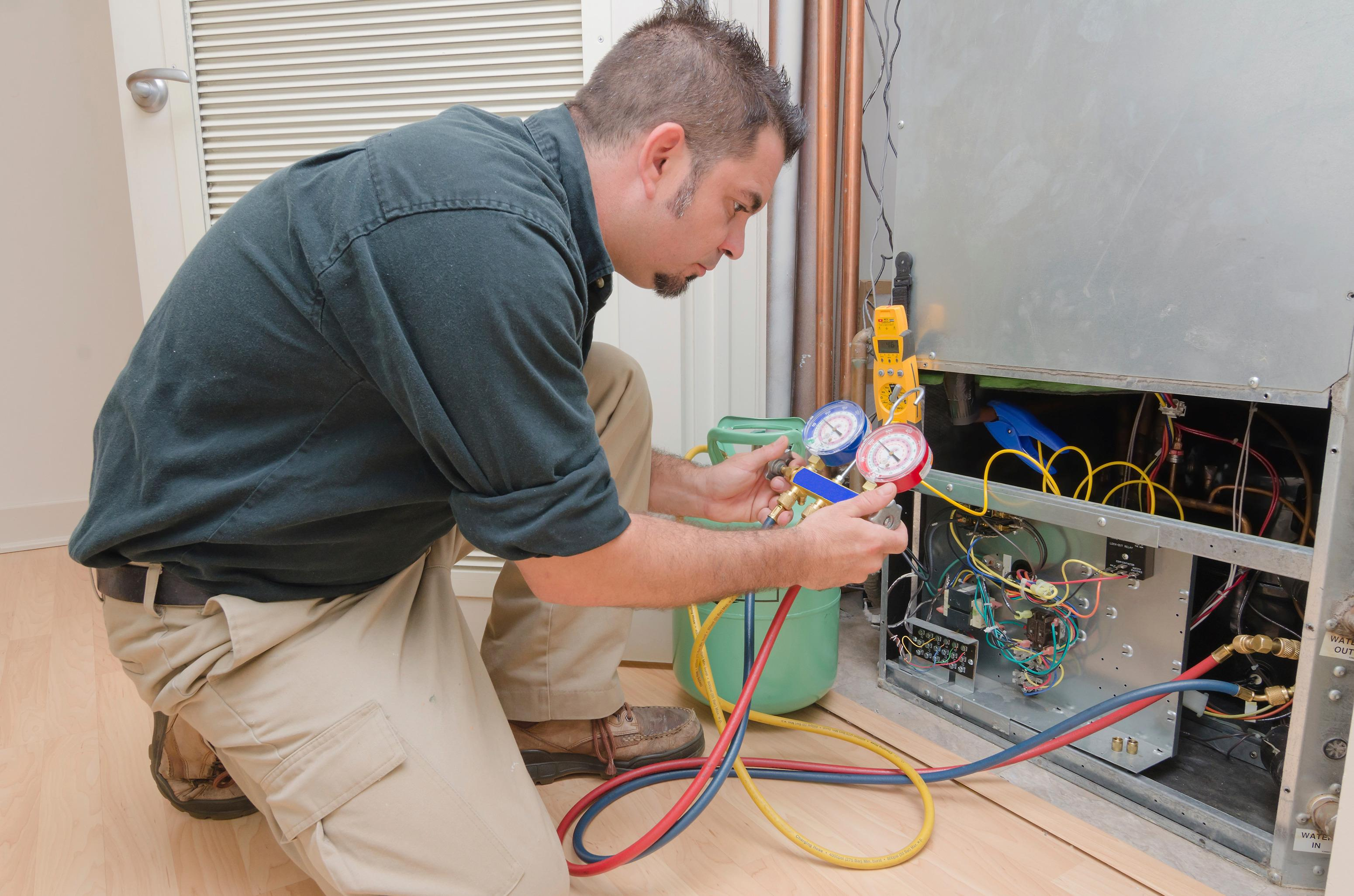 REPAIRS  From furnaces to heat pumps, we can repair and restore your cooling or heating system.  We can also offer same-day service that includes diagnostic and repairs and suggest the best solution.