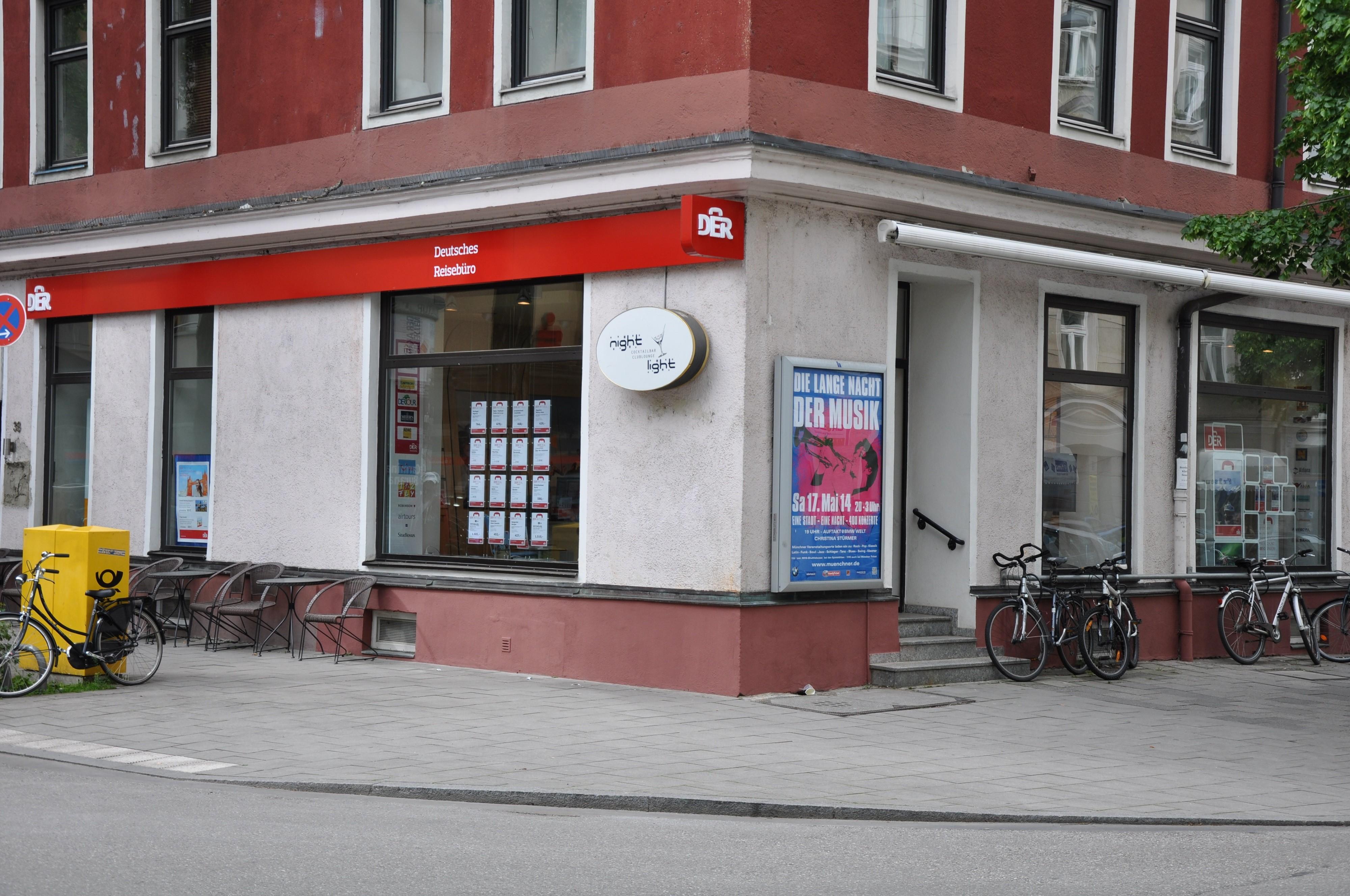 DER Deutsches Reisebüro, Pariser Straße 38 in München