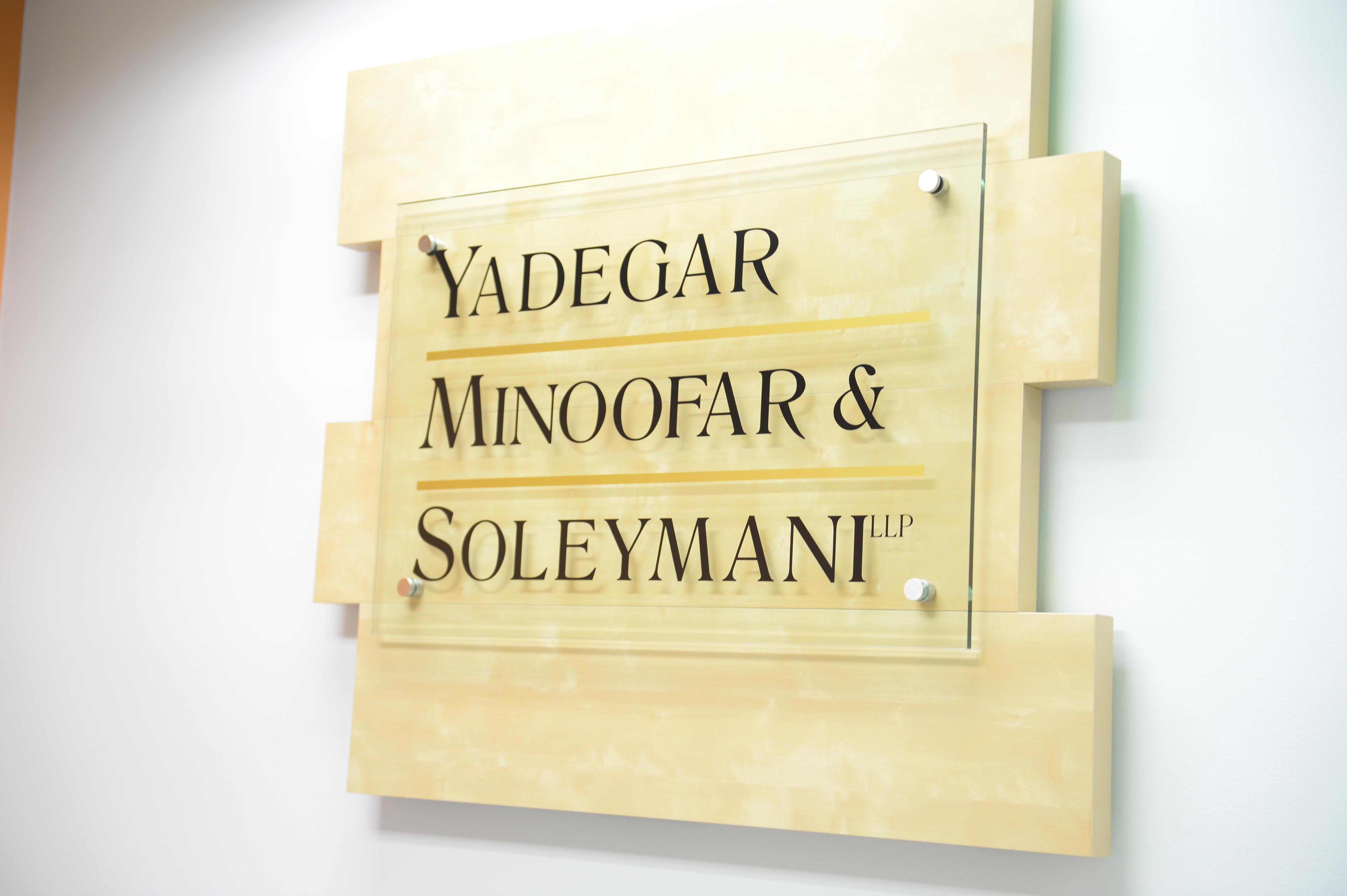 Yadegar, Minoofar & Soleymani - ad image