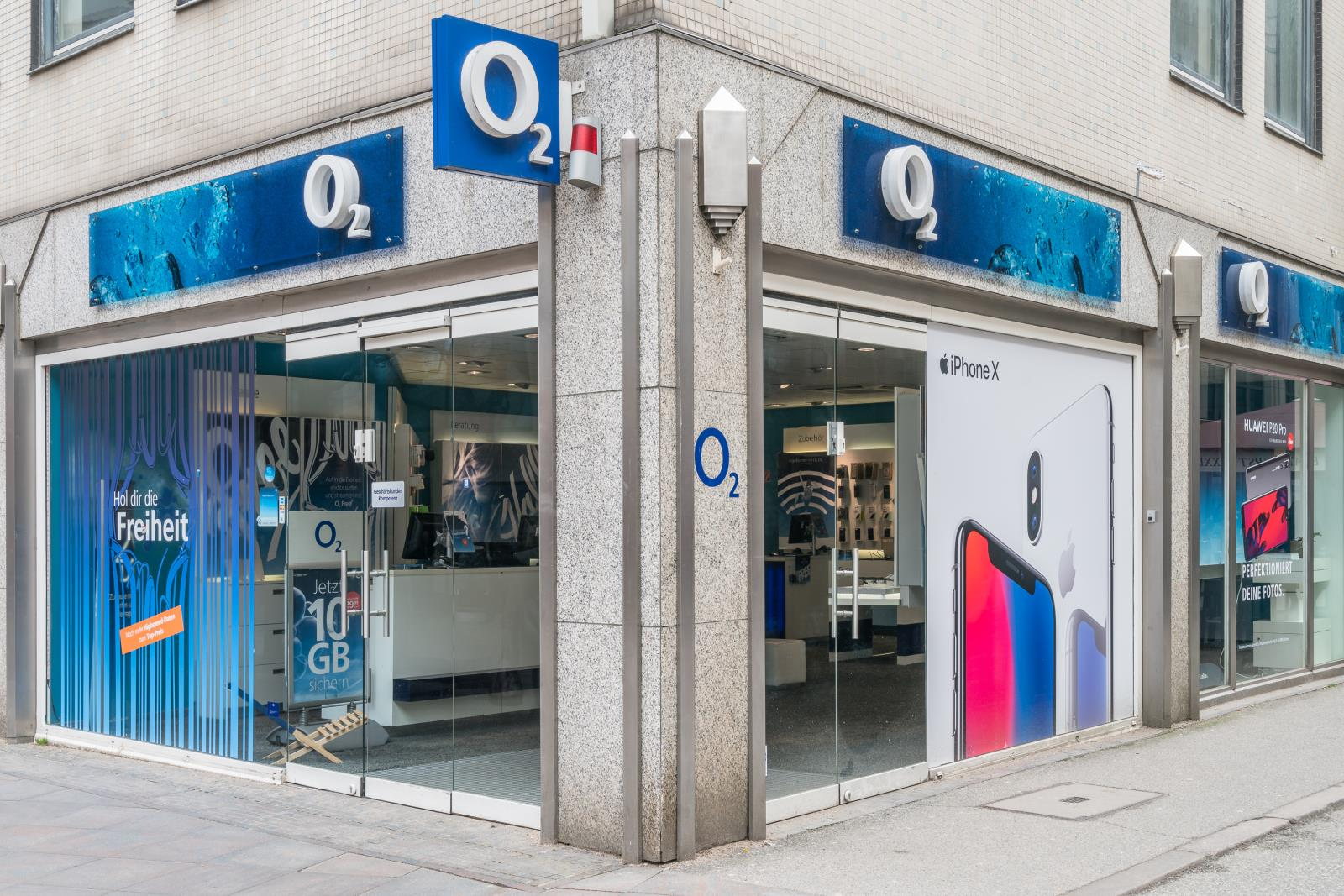 o2 Shop, Breite Str. 55 in Lübeck