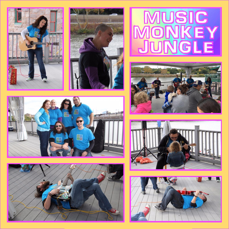 Music Monkey Jungle