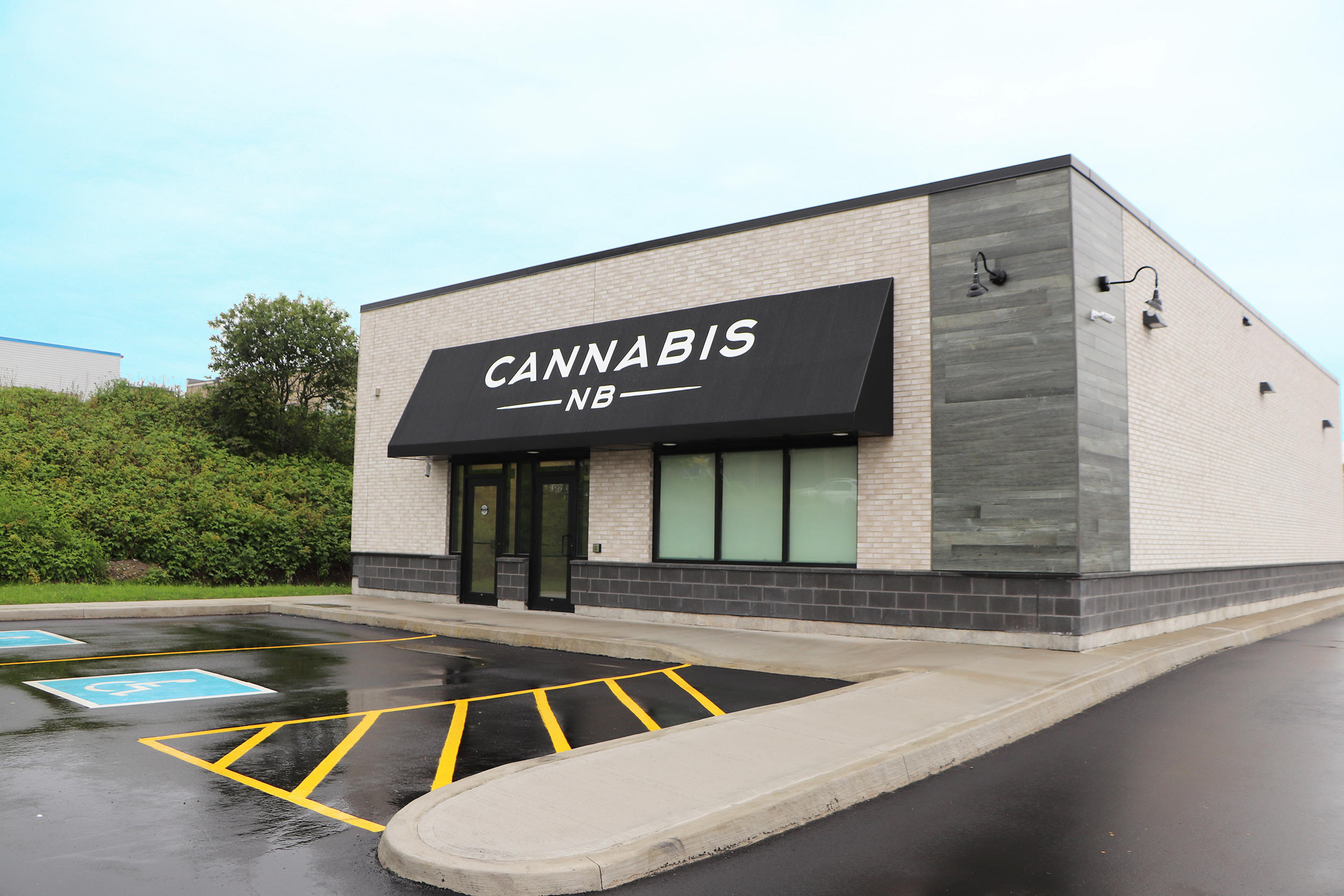 Cannabis NB in Sackville: Cannabis NB Saint John location on Lansdowne Ave