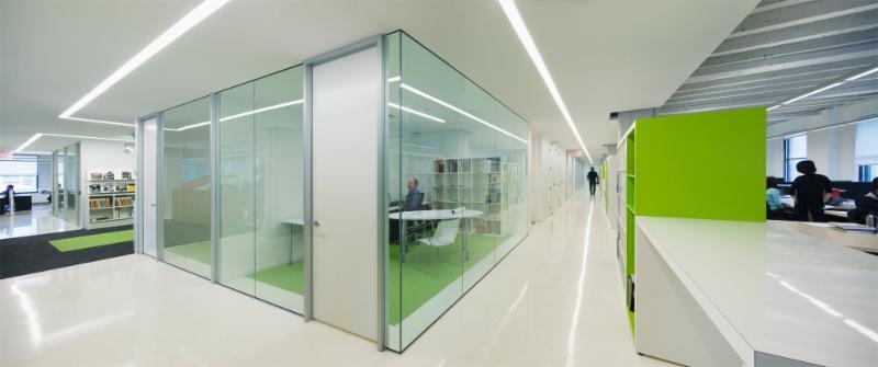 Aedifica à Montréal: Workplace Environment, Sustainable Design - Aedifica's Offices, Montréal
