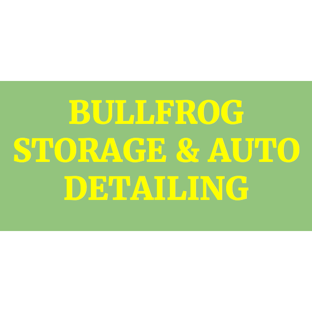 Bullfrog Storage & Auto Detailing