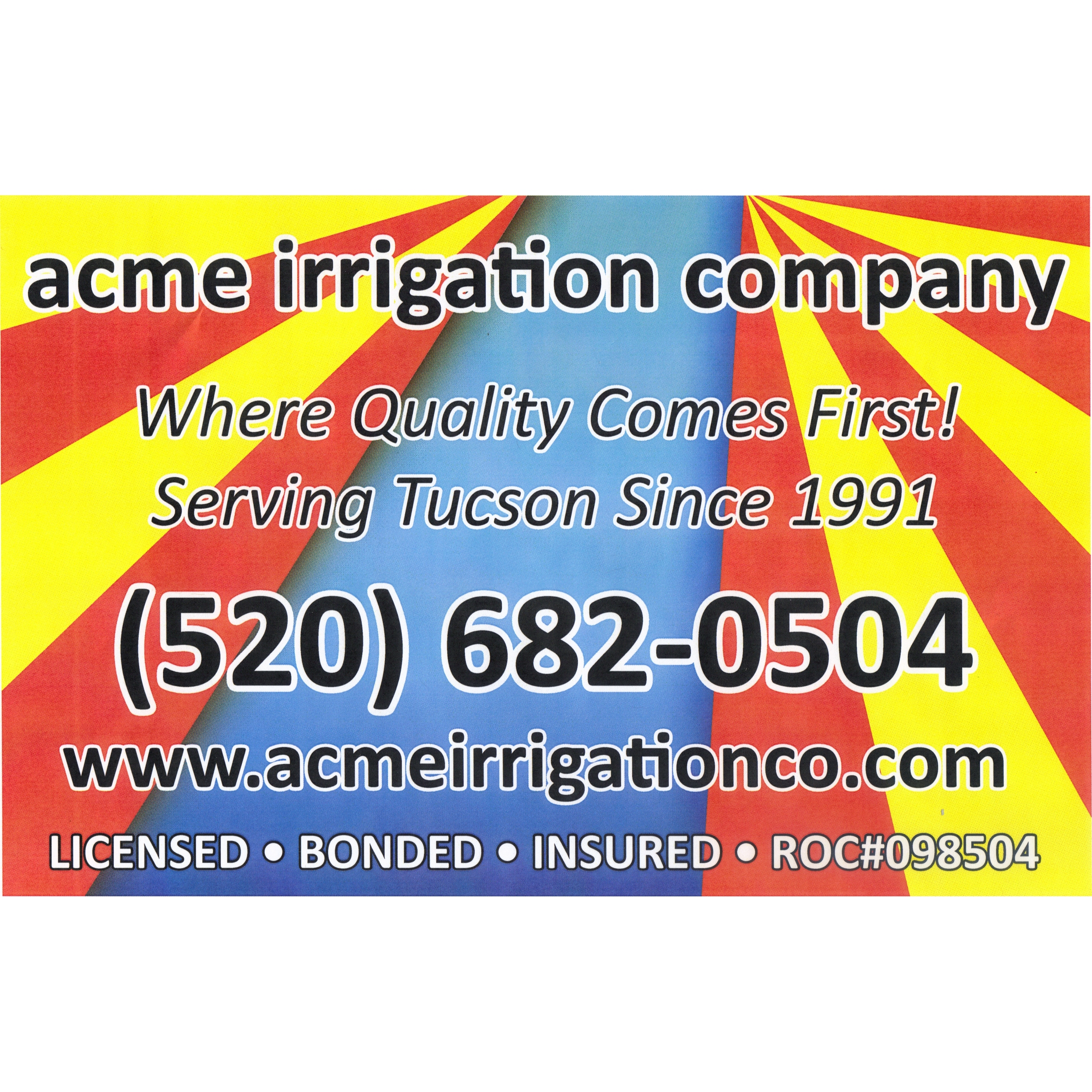 Acme Irrigation Company
