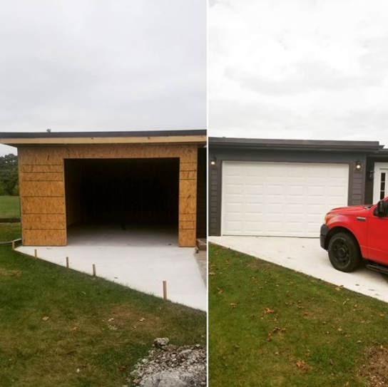 Ready to revamp your #Garage space? We love doing these types of add-ons. Give us a call to receive a FREE estimate on yours today!