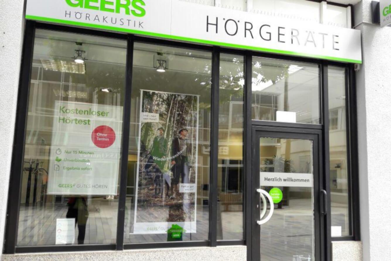 GEERS Hörgeräte, Bahnhofstraße 18 in Böblingen