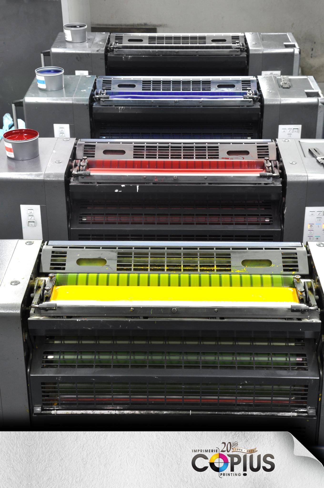 Copius Imprimerie Printing Inc à Gatineau
