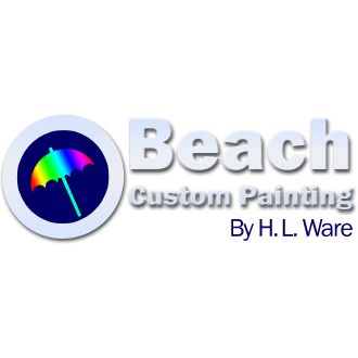 Beach Custom Painting by H. L. Ware