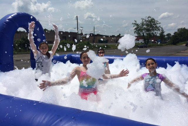 Let the FOAM begin. Ask about our foam party packages.