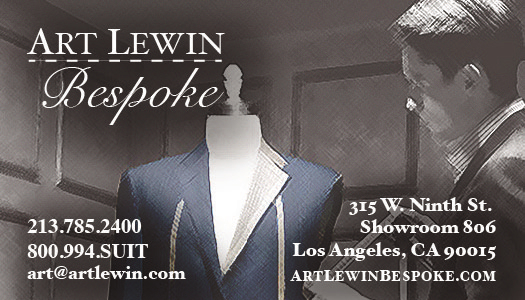 Art Lewin Bespoke Tailors - Los Angeles