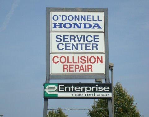 o 39 donnell honda collision repairs service center in
