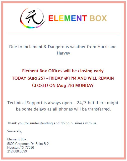 Element Box Inc 信用卡機/安全攝像機/報警器/商業顧問 image 0