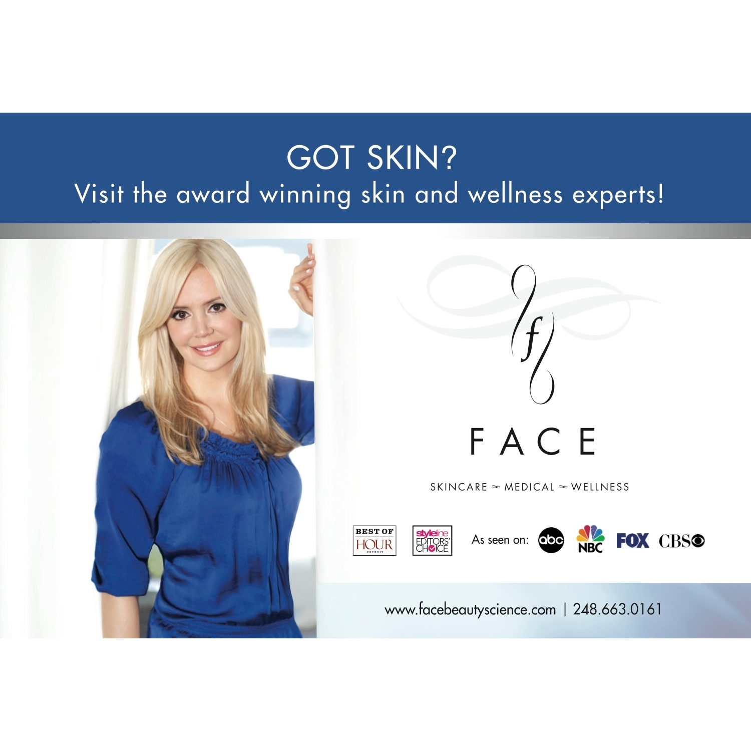 FACE Skincare~Medical~Wellness - Bingham Farms, MI 48025 - (248) 663-0161 | ShowMeLocal.com