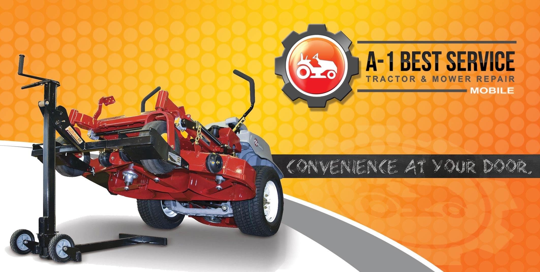 A-1 Best Service Mobile Tractor & Mower Repair - Lawn Mower Repair