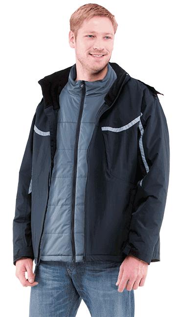 The RefrigiWear 3 in 1 jacket