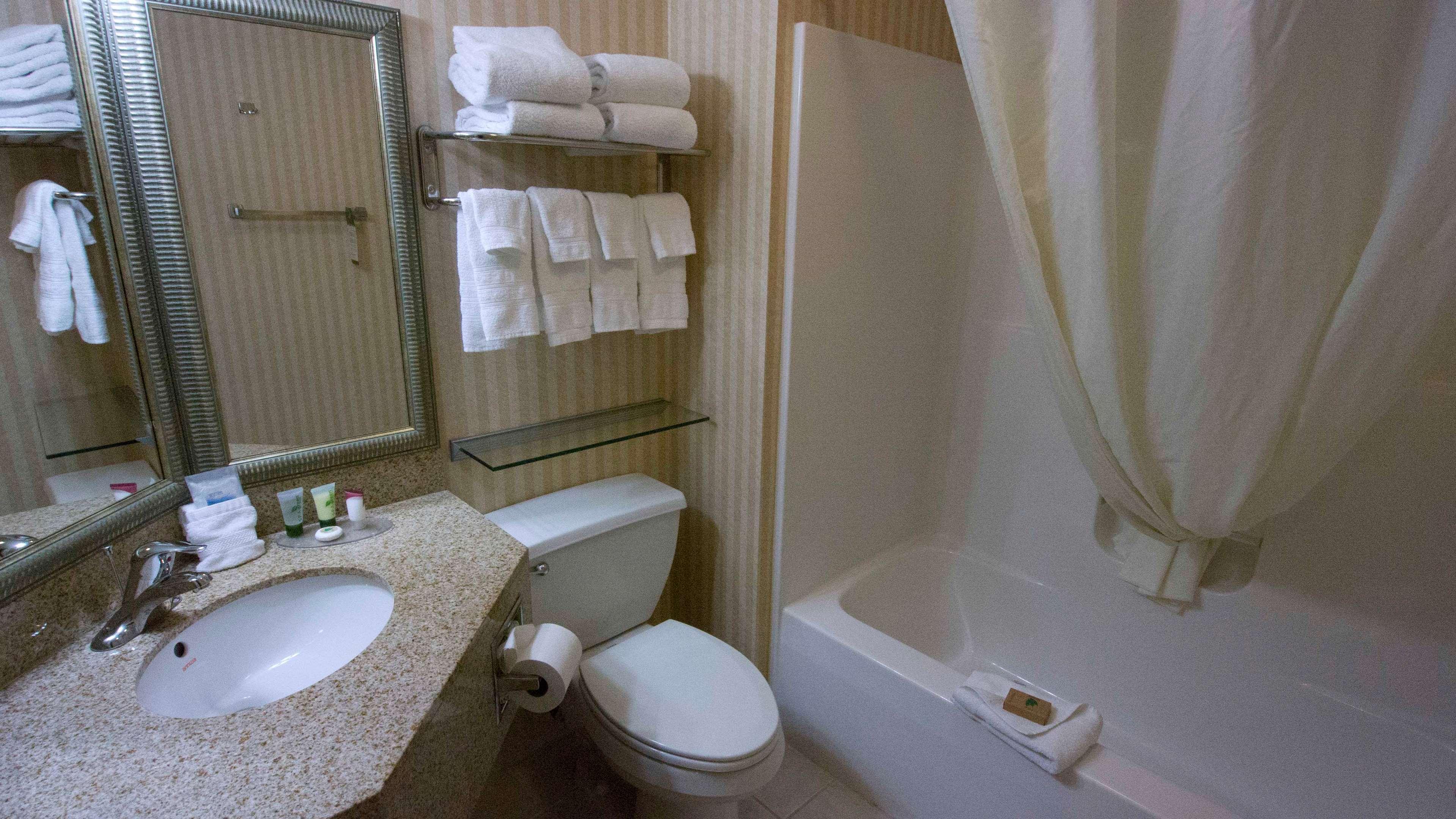 King Sofa Suite Bathroom