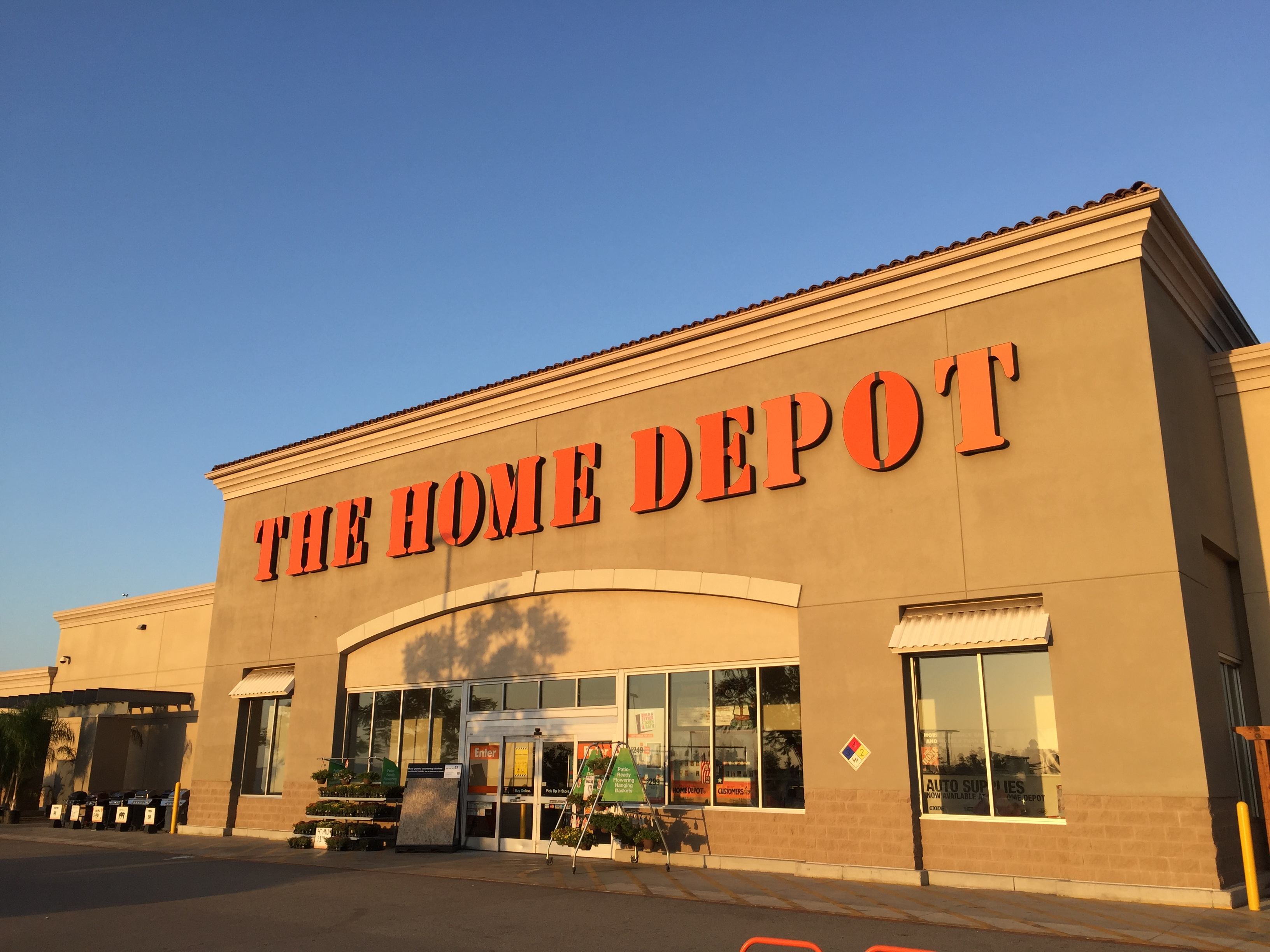 The Home Depot 16005 Sierra Lakes Pkwy Fontana Ca Home Improvements