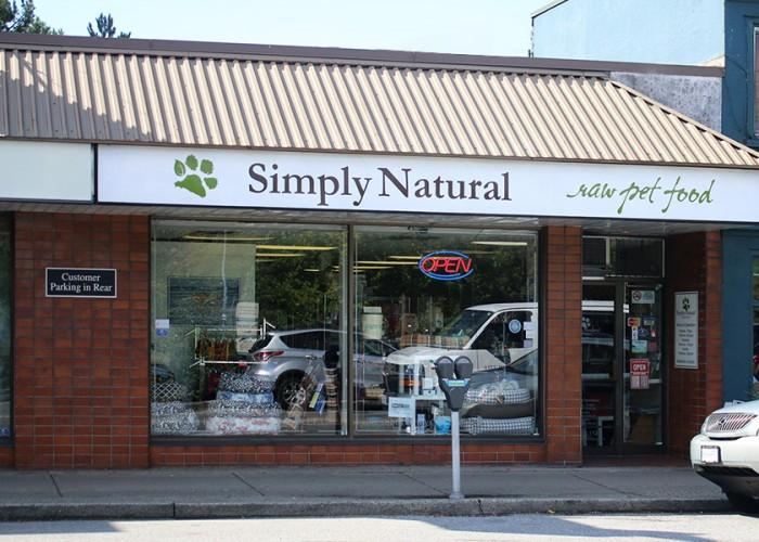 Simply Natural Raw Pet Food in Vancouver