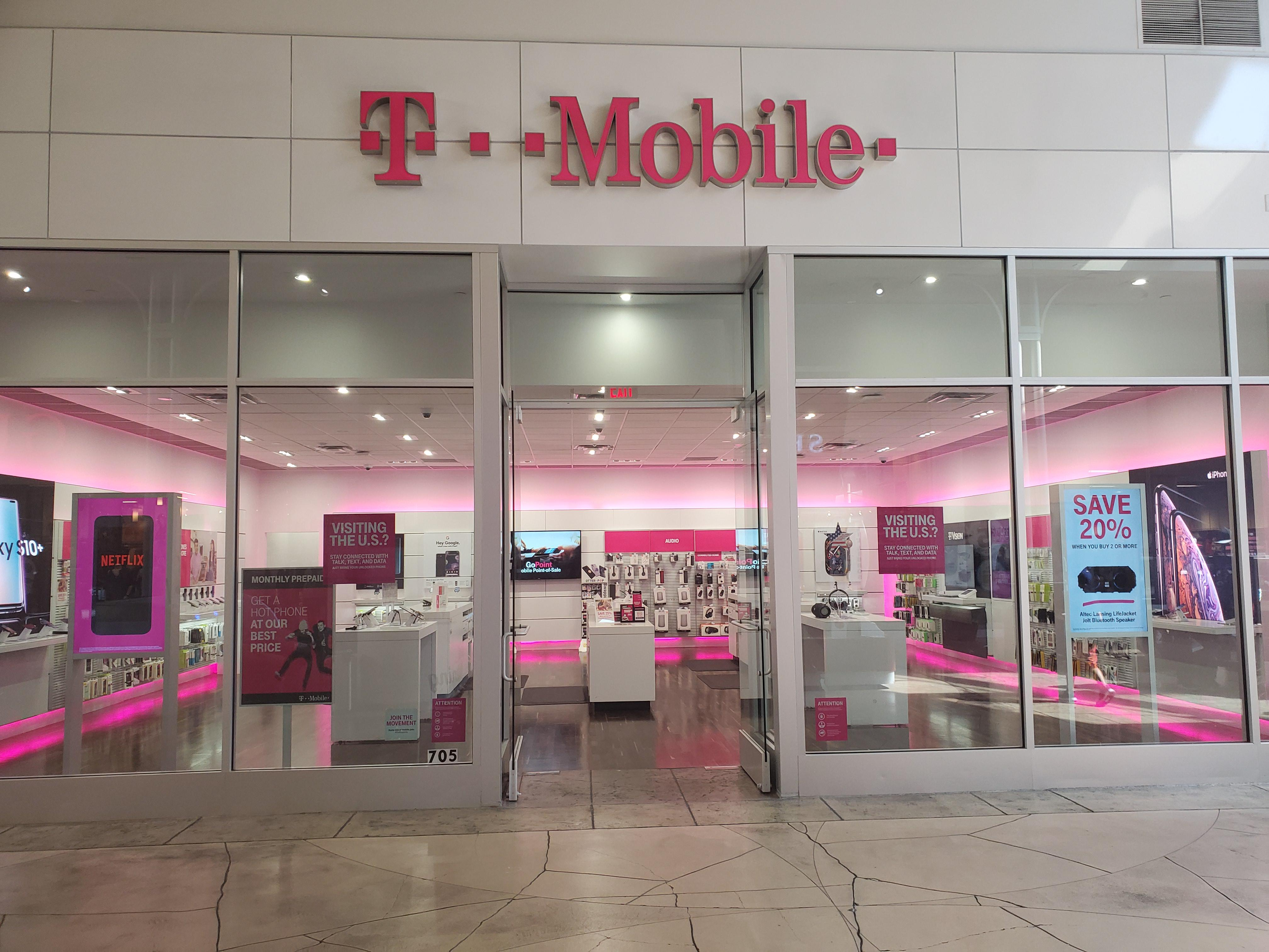 Cell Phones Plans And Accessories At T Mobile One Mills Circle