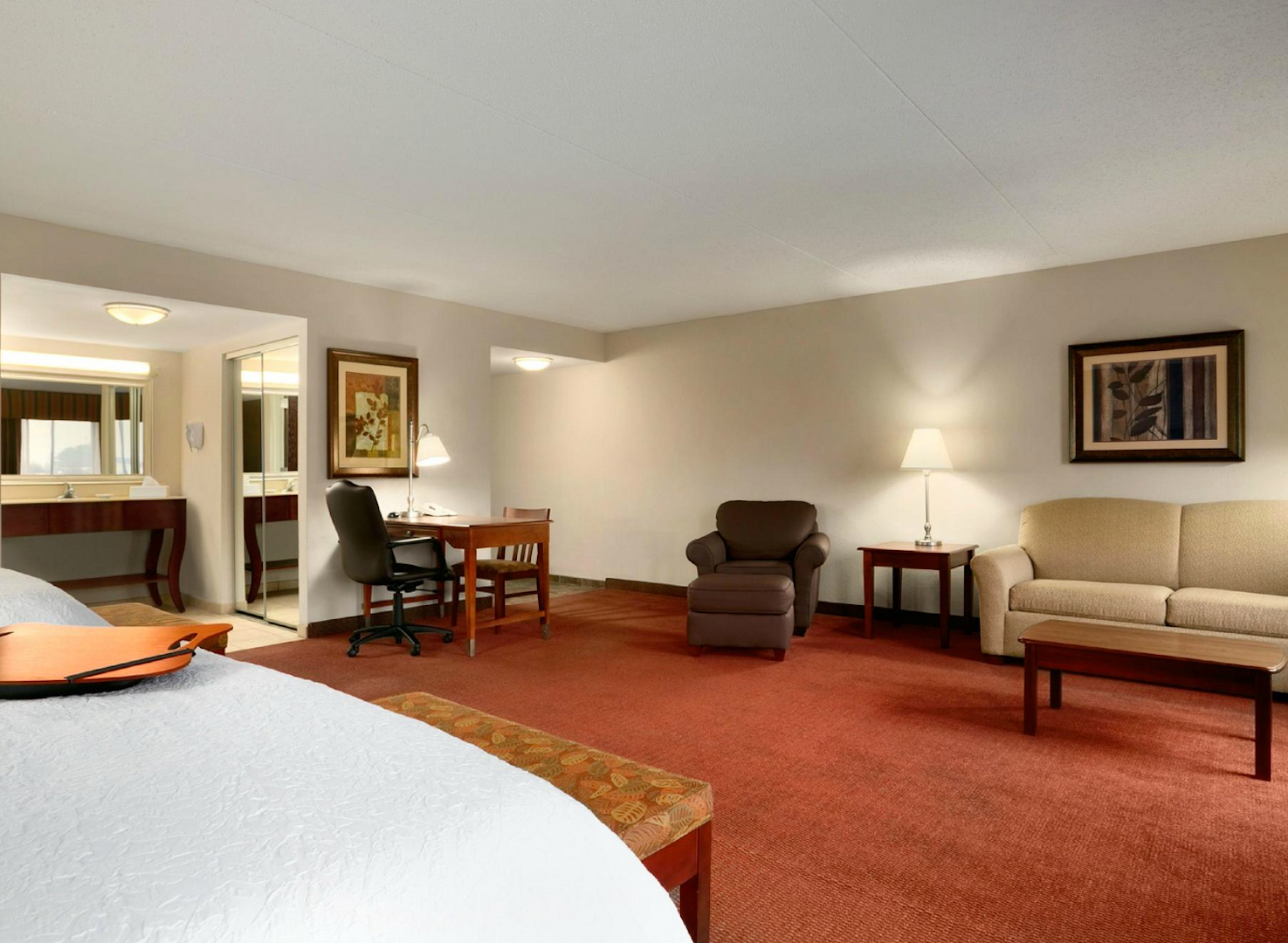Suites are also available