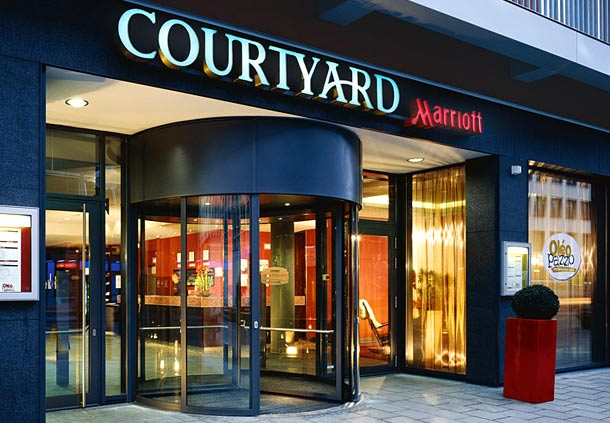 courtyard by marriott munich city center munich bavaria by 80336 yellowmap. Black Bedroom Furniture Sets. Home Design Ideas