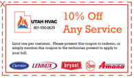 10% off any heating or cooling service.