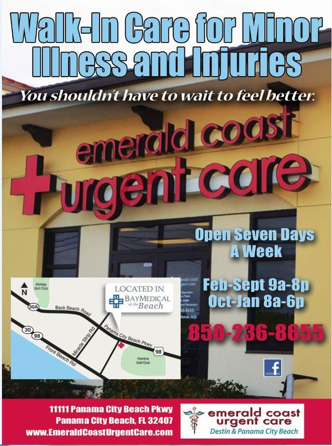 Emerald Coast Urgent Care - ad image