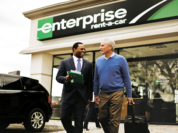 Enterprise Rent-A-Car à Saint-Laurent