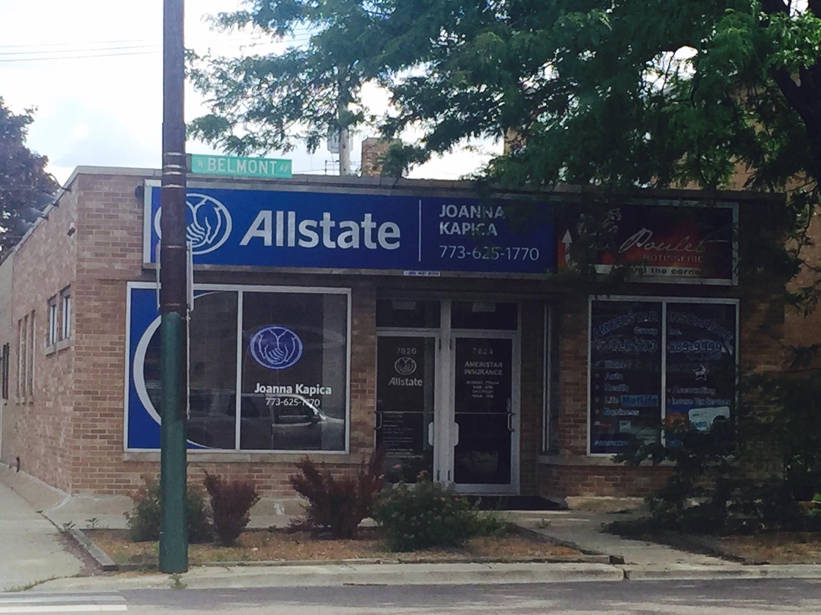 Joanna Kapica: Allstate Insurance