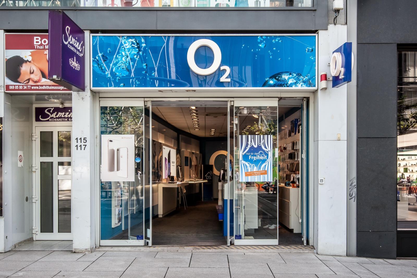 o2 Shop, Zeil 115-117 in Frankfurt am Main